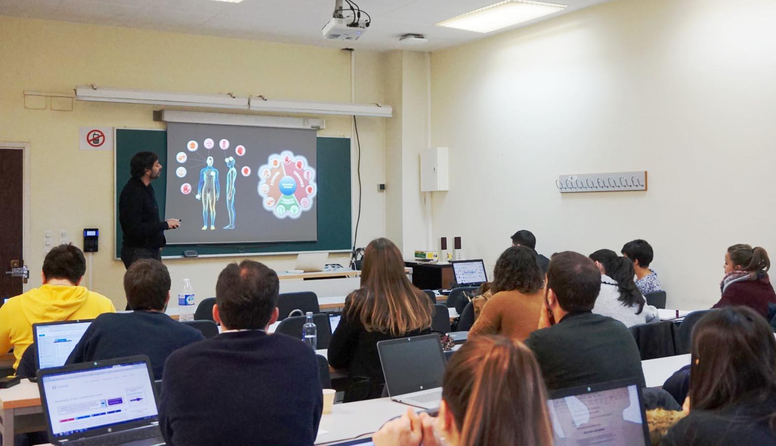 Sesión de neuromarketing con Juan Graña