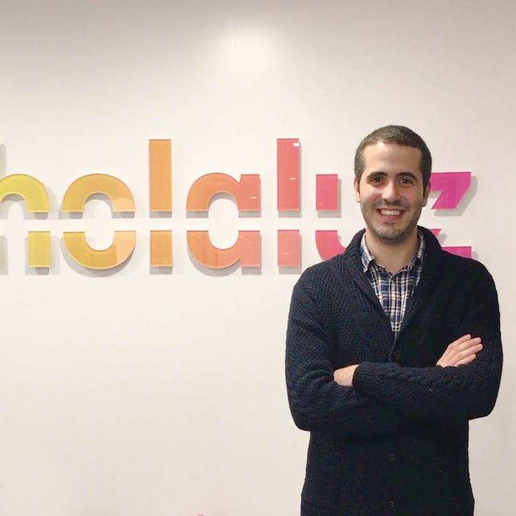 """Pablo Gil Balseiro: """"El Máster me ha permitido formarme en un sector que está en auge de una forma eficaz y práctica""""."""