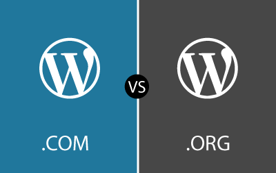WordPress. COM vs ORG
