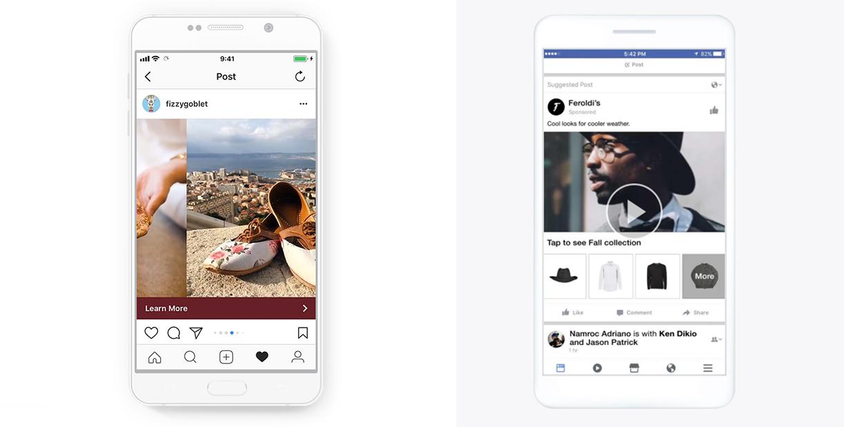 Anuncios de producto Facebook