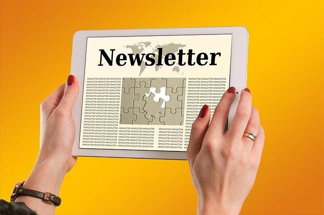 Imagen sobre newsletter